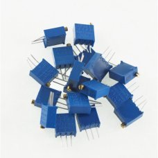 Kit 17 Pcs DIP precision potentiometer, include 17 different value