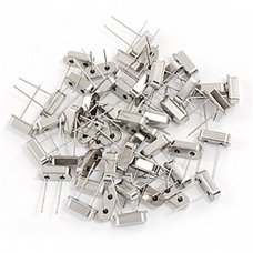 Kit 50 Pcs DIP Mounting Quartz Crystal Oscillator include 10 different value from 6Mhz to 40Mhz