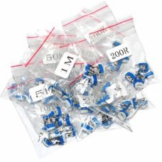 Kit 65 Pcs DIP potentiometer, include 13 different value from 100 ohm  to 1 Mohm
