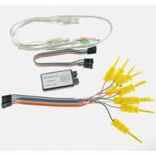 Compatible avec Saleae USB Logic 24MHz 8Ch Logic Analyzer pour ARM FPGA