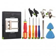 KS-1200 Set d'outils 2 en 1 BGA Precision Fixture / Clamp pour cartes mères avec tournevis