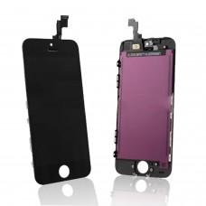 Ecran LCD+Ecran tactile Remplacement de l'ensemble numériseur pour iPhone 5C noir