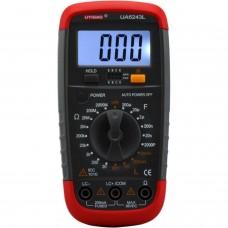 LCR mètre Palm Taille UA6243L (résistance, capacité, Inductance, Test de Transistor)