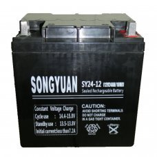 Lead  Battery 12V / 24Ah SY24-12 165mm x 125mm x 175mm