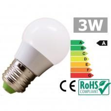 Ampoule à LED E27 3W 3000K blanc chaud