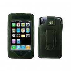 Etui en cuir pour iPhone 3G et iPhone 3GS