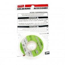 Mèche à souder GOOT CP-1515 Desoldering mesh GOOT 2.00 euro - satkit