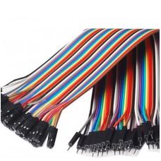 Câble femelle mâle 40pcs Dupont Jumper Cable 30cm Plaque d'éveil pour Arduino[Projets Arduino]