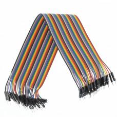 Câble mâle mâle 40pcs Dupont Jumper Cable 30cm Plaque d éveil pour Arduino[Projets Arduino] Electronic equipment  1.30 euro - satkit