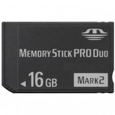 MEMORY STICK PRO DUO 16GB (COMPATIBLE AVEC PSP)