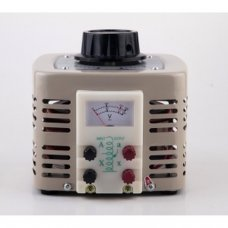 Variateur de mesure Variac - Transformateur de sortie AC variable 2 Amp 0-250V (TDGC2-0.5KVA)