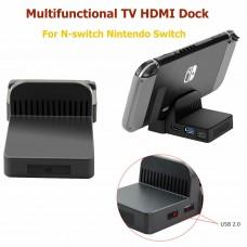 Station d'accueil vidéo USB HDMI Mini TV portable pour console de jeu Nintendo Switch