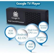 Mini PC MK808 Dual-Core Android 4.1.1.1 Google TV Player w / 1GB RAM / ROM 8GB / Wi-Fi / TF / HDMI