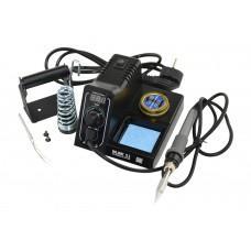 MLINK S1 Solder Station 60W, 90-480 ° C, afficheur de température à DEL numérique, fonction de verrouillage de la température, fonction de veille, y compris les pièces de rechange et les astuces