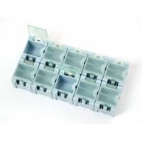 Modular Snap Boxes - Stockage de composants CMS - paquet de 10