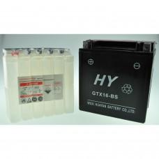 Batterie de moto YTX16-BS