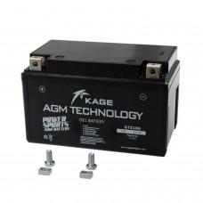 Batterie moto KAGE AGM YTZ10S/YT10B-4/GTZ10S 8,6AH (GTZ10S)