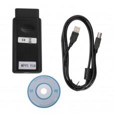 MPPS V16 ECU ECU Outil de remise au point des puces clignotantes pour EDC15 EDC16 EDC16 EDC17 Inkl CHECKSUM
