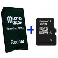 MS Adaptateur Pro Duo + MicroSD 16GB