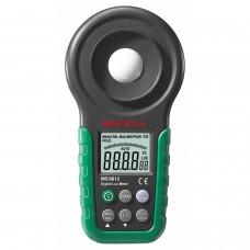 Mastech multifonctions MS6612 Luxmètre pour bougie à pied Luxmeter Auto Range Meter Auto Range Peak