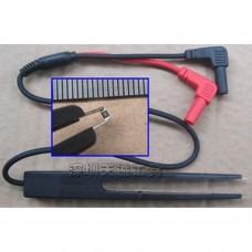 Câble multimètre avec clips pour smd
