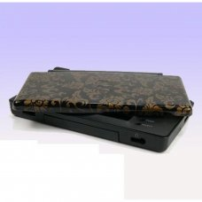 NDS Lite Console Shell (GOLD-BLACK)
