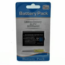 NINTENDO 3DS Batterie rechargeable Li-ion 3,7v 2000mah