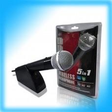 PEGA 5 en 1 microphone sans fil PS2/PS3/XBOX 360 /WII/PC