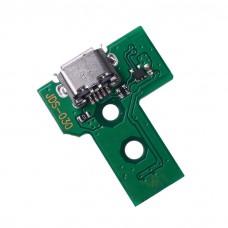 Carte de port de chargement USB JDS-030 pour manette PS4 Playstation4 Contrôleur Dualshock4 Câble flexible 12 broches
