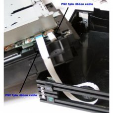 PS2 Câble ruban 5 broches (carte mère)