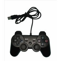 PS3/PS3/PC Joypad USB à double amortisseur