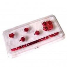 Ensemble de boutons de remplacement pour PSP *RED* 1842