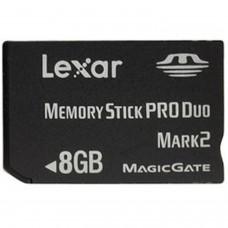 PSP Memory Stick Pro Duo 8 Go Lexar *ORIGINAL* 8 Go