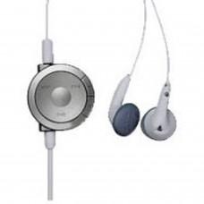 PSP Casque d'écoute avec télécommande (blanc)