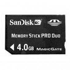 PSP Memory Stick Pro Duo 4Go Sandisk *ORIGINAL* Memory Stick Pro Duo