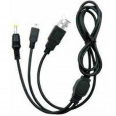 PSP/PSP2000/PSP3000 Recharge et transfert de données 2 en 1 câble