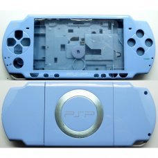 PSP2000/Slim Console Shell - BLUE LIGHT