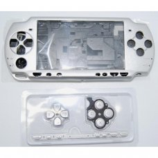 PSP2000/Slim Console Shell - ARGENT