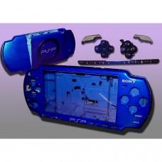 PSP2000/Slim Console Shell - BLEU ÉLECTRIQUE