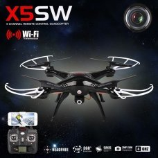 QUADCOPTER DRONE SYMA X5SW FPV Explorers 2.4GHz 4CH 6Axis Gyro RC  CAMERA HD WIFI