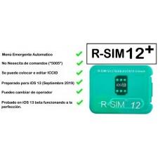 UNLOCK CARD R-SIM 12+ POUR iPhone 5S / 6 / 6 / 6S / 7 / 8  und X bis iOS 11 and iOS12