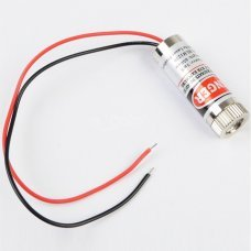 RED Laser Diode Module Focusable point Line 650nm 5mW 3~6V cable135mm