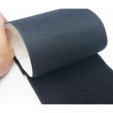 Bande de fixation adhésive autocollante autocollante à bande adhésive à coudre avec boucle à crochets pour ruban 8cm 1 mètre de long