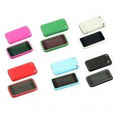 Etui silicone pour iPhone/iPhone 3GS 3G (7 couleurs disponibles)