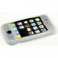 Etui silicone pour iPhone 3G et iPhone 3GS