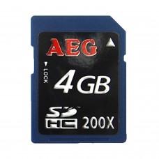 Carte mémoire SDHC 4Go[Classe 10] Haute vitesse