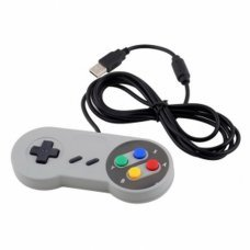 Super Controller USB Gamepad Joypad for Nintendo Windows Mac SF SNES PC FE GAMECUBE, N64, SNES  3.00 euro - satkit