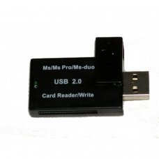 USB 2.0 Lecteur de cartes simple MS PRO et MS PRO DUO