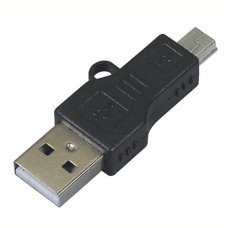 USB Adaptateur mâle vers MINI-USB Mâle