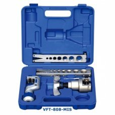 VALUE VFT-808 High quality refrigeration eccentric cone flaring tool kit in Imperial and Metric size